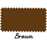 Brown Chenille Felt