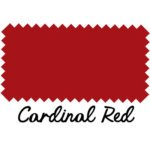 Cardinal Red Leather