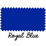 Royal Blue Leather
