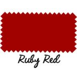 Ruby Red Leather
