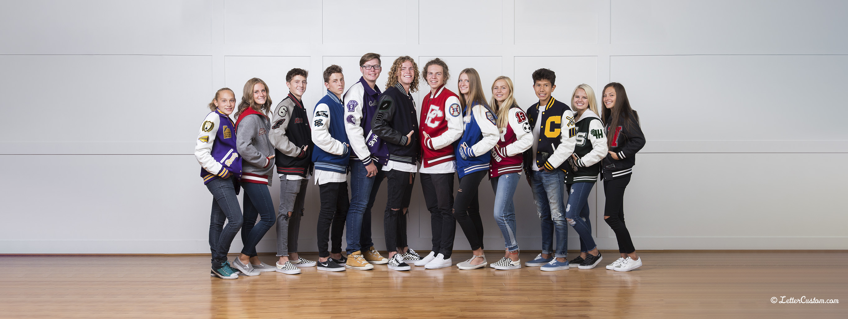Custom Varsity Letterman Jackets 1
